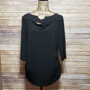 Premise Long Sleeve Career Blouse